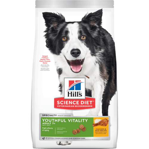 dog food packshot